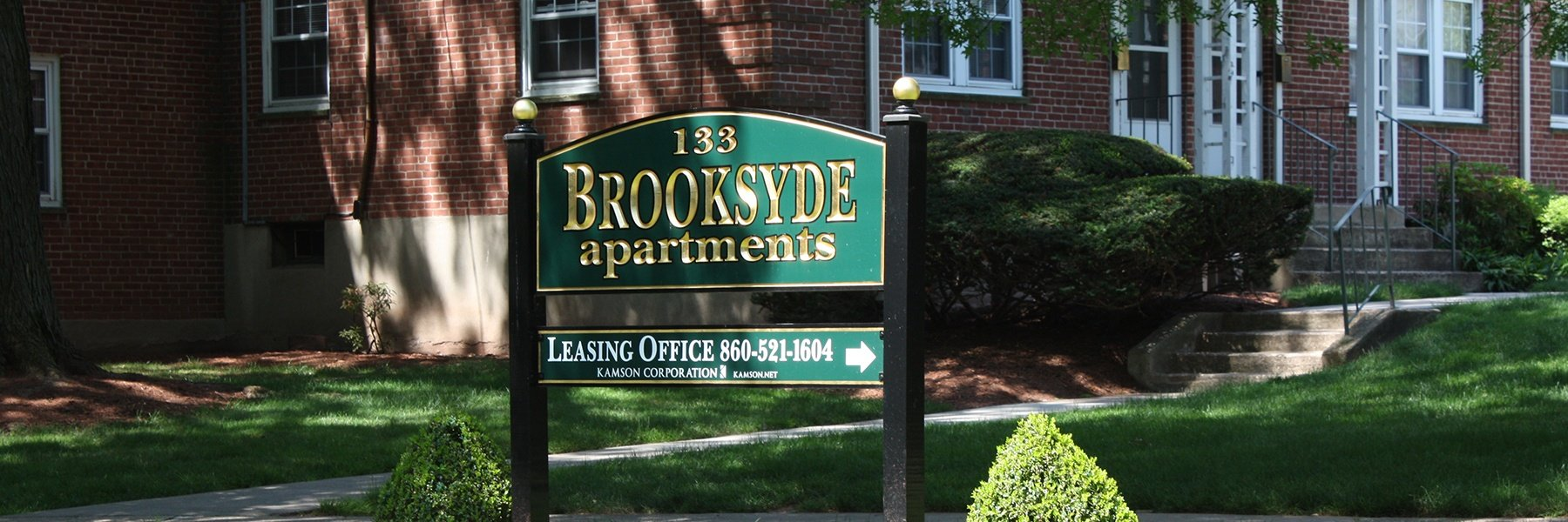 Brooksyde Apartments For Rent in West Hartford, CT Welcome