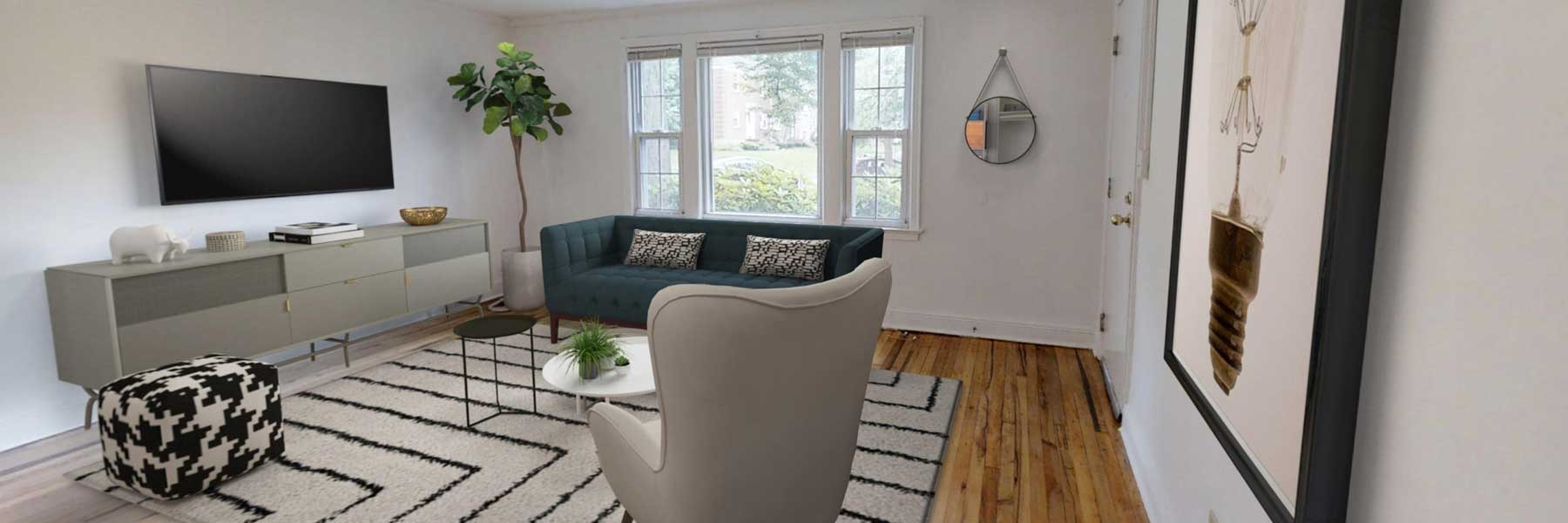Brooksyde Apartments For Rent in West Hartford, CT Livingroom